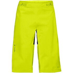VAUDE Moab Regen Shorts Heren, bright green
